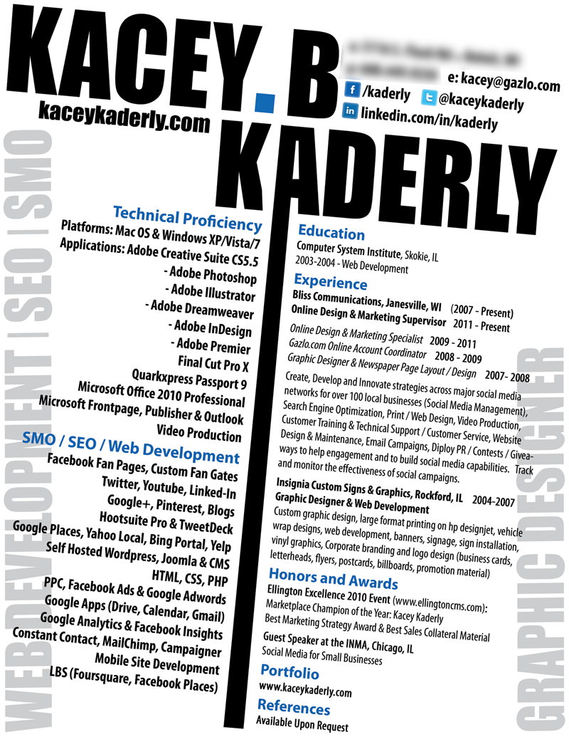Kacey Kaderly Resume