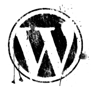 wordpress-logo-grunge